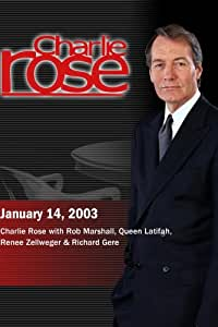 Charlie Rose with Rob Marshall, Queen Latifah, Renee Zellweger & Richard Gere (January 14, 2003)