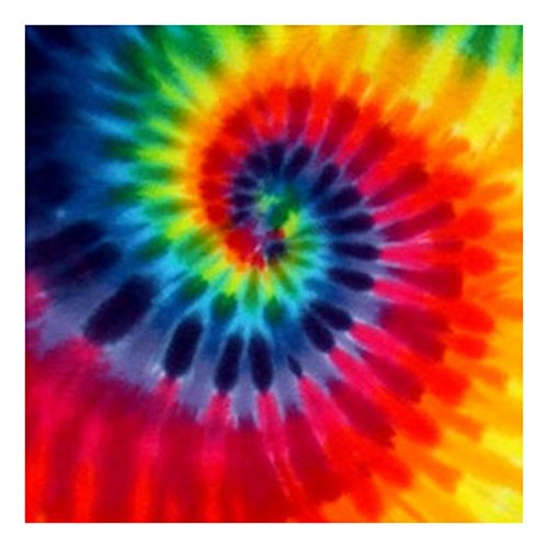 Tie Dyed Shop Tie Dye Bandana for Men Women - 12 Color Spiral -