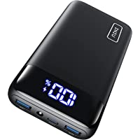 INIU Power Bank, 20000mAh 20W PD3.0 QC4.0 Carga Rápida Bateria Portatil, 3A Salidas Bateria Externa con Pantalla LED…