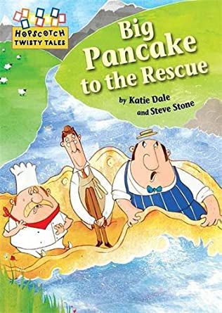 book cover of Big Pancake to the Rescue