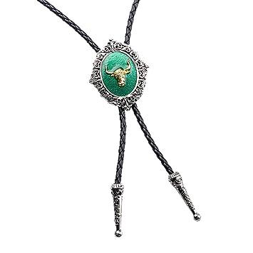 MagiDeal Corbata Bolo, Bolo Tie, Collar, Diseño Elegante (Patrón ...