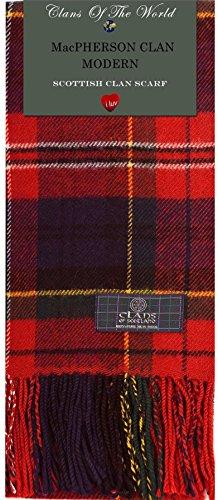 MacPherson Clan Modern Plaid - Modern Tartan Clan