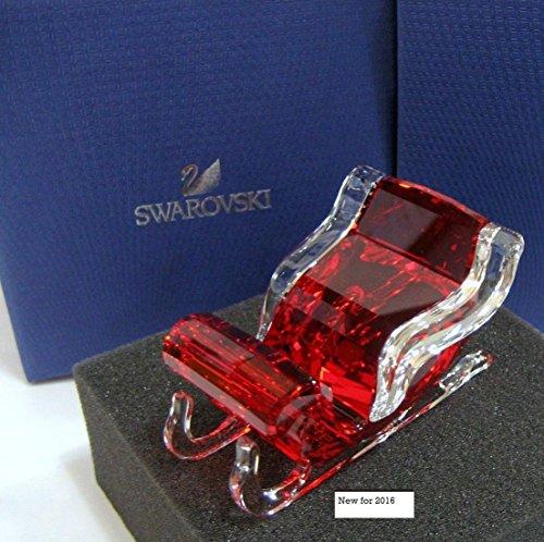 Swarovski Santa's Sleigh Holiday Figurine