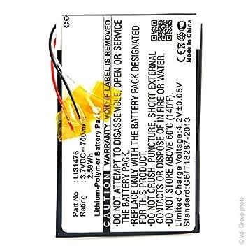 NX - Baterías para ebook 3.7V 700mAh: Amazon.es: Electrónica