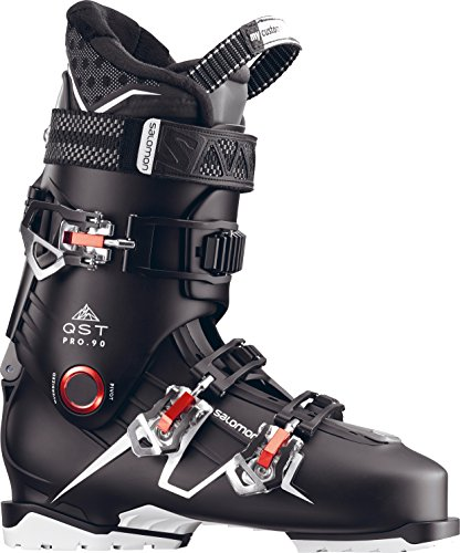 Salomon QST Pro 90 Ski Boots Men's Black/Anthracite/Red 29.5