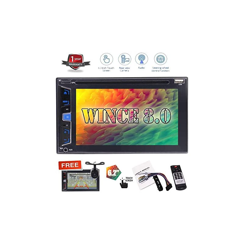 "Hotsale 6.2"" No GPS Navigation Car DVD P"