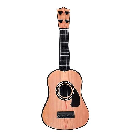 CUEYU - Ukelele para niños, 4 Cuerdas, Guitarra de simulación ...