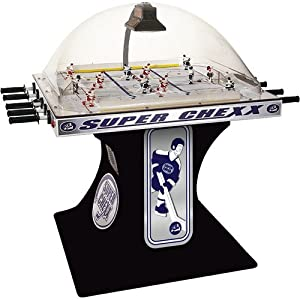 ICE Super Chexx Non-Coin Deluxe Home Bubble Hockey Table