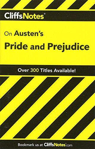 CliffsNotes on Austen's Pride and Prejudice (Cliffsnotes Literature Guides) PDF