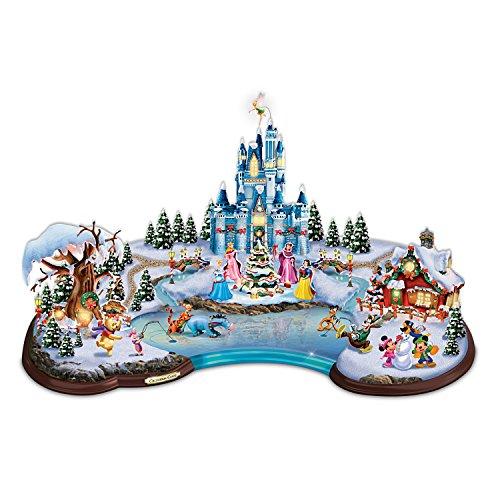 Disney Light Up Christmas Cove Village Sculpture by Hawthorne Village