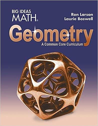 Amazon com: BIG IDEAS MATH Geometry: Common Core Student