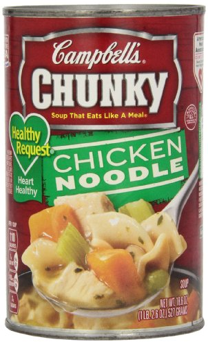 Campbell's Chunky Healthy Request Soup, Chicken Noodle, 18.6 Ounce