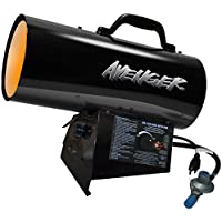 Avenger Portable Forced Air Propane Heater - 125,000 BTU, Model# FBDFA125V