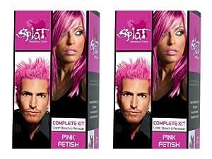 amazoncom splat rebellious colors hair coloring kit