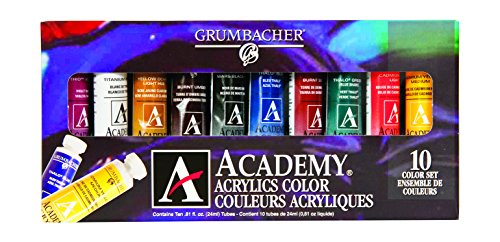 13 Best Acrylic Paints For Beginners Professionals