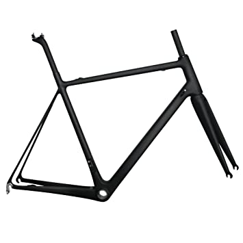Amazon.com : ICAN Road Bike frame Lightweight Carbon Fiber T800 BB86 ...