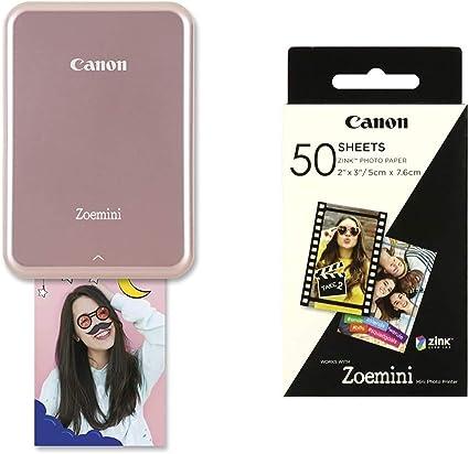 Canon Zoemini Mini Fotodrucker Rose Gold Zoemini Kamera