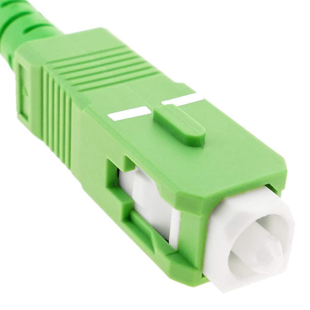 C/âble /á fibre optique SC//APC /á SC//APC simplex monomodes 9//125 /á 3 m Cablematic