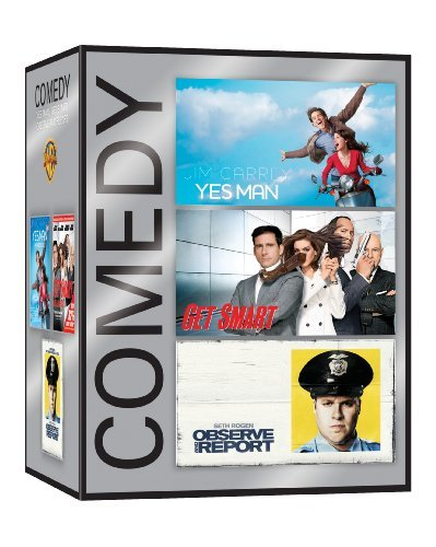 Comedy Genre Pack (Yes Man / Get Smart / Observer and Report)