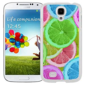 Abstract Colorful Lemon slices (2) Hard Plastic Samsung Galaxy S4 I9500 Protective Phone Case