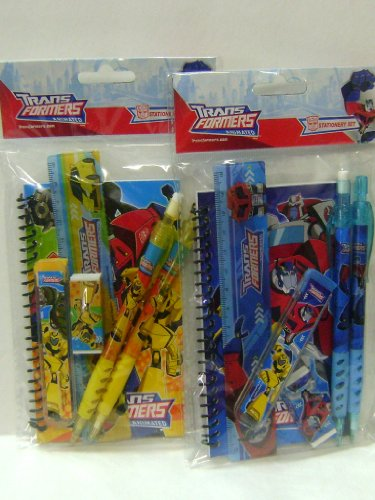Price comparison product image Animated Transformers Stationery Set of 2