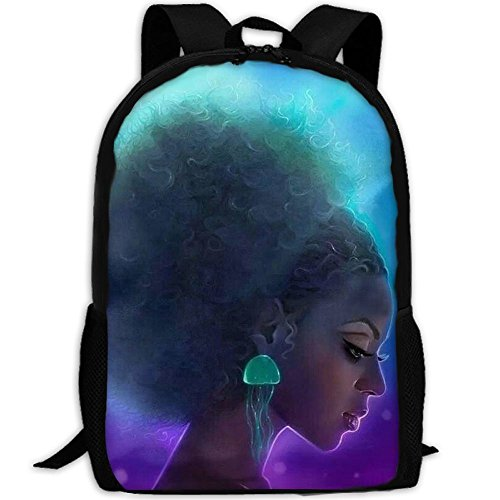 Search : Popular Girls Daypack Backpacks For 7th Grade Incredible African American Black Girl