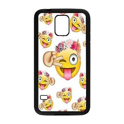 Amazon.com: Funny Queen Emoji teléfono celular para Samsung ...