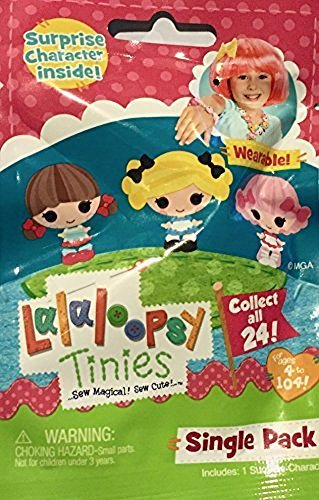 [Lalaloopsy Tinies NEW SERIES Single Character Pack] (Pickle Surprise Costume)