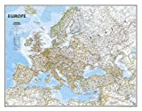 Europe Classic, Enlarged &, Tubed: Wall Maps Continents: NG.PC620075 (National Geographic Reference Map)