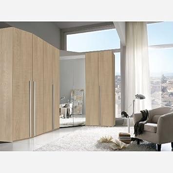 Cabina armadio angolare 8 ante battenti - VA771: Amazon.it: Casa e ...