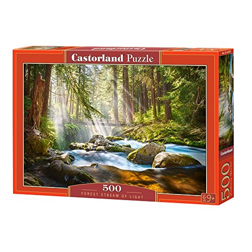 Castorland Puzzle Forest Stream of Light 500 Pieces