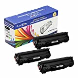 PrintOxe™ Compatible 3 Toner Cartridges Replacement for Canon CRG 137 Universal CRG137 / 337 / 737 ( 9435B001AA ) for Canon ImageClass Printer Models: MF229dw , MF226dn , MF216n , MF224dw , MF222dw , MF217w , MF211 , MF212w , MF215w , MF227dw