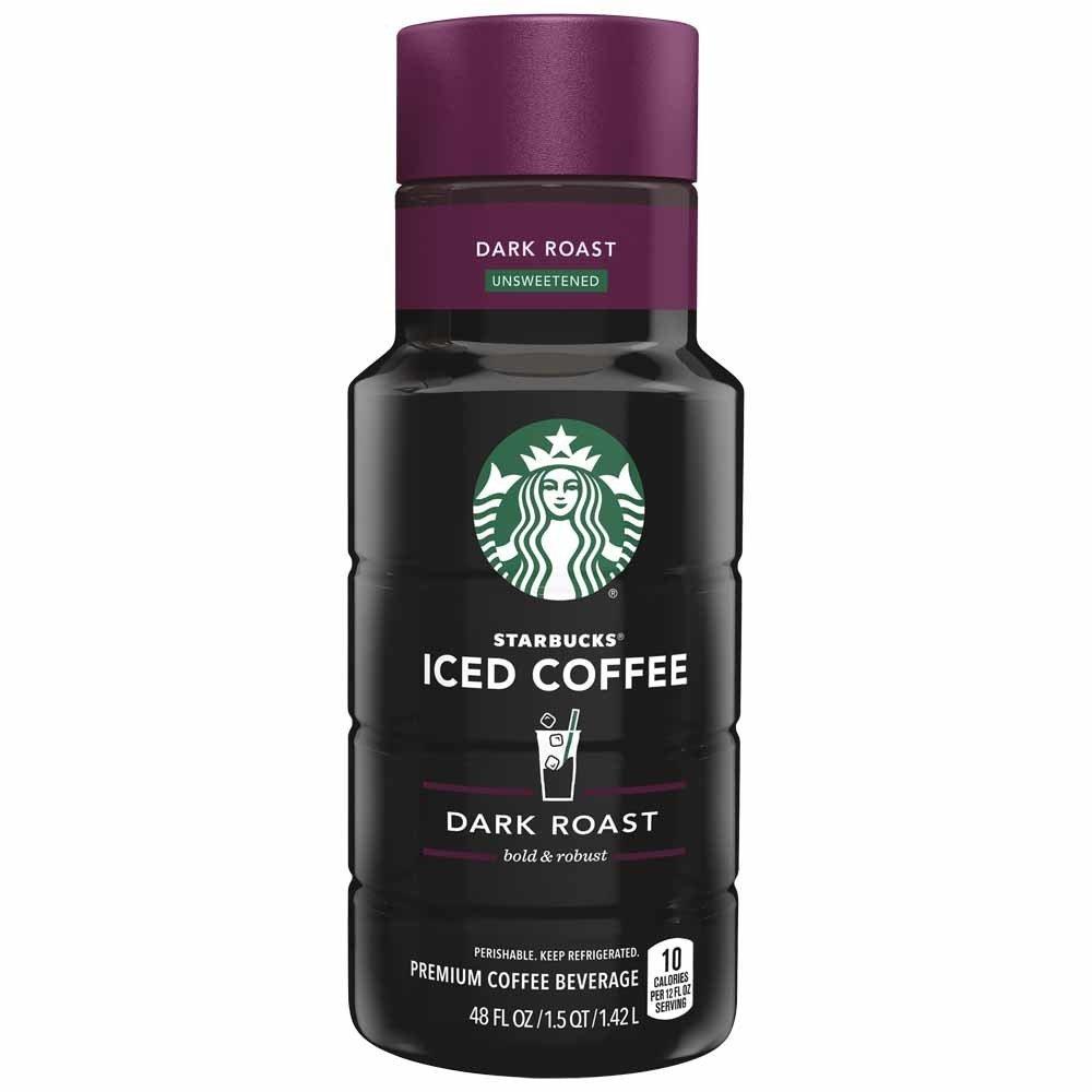 Starbucks Dark Roast Iced Coffee, 48 oz