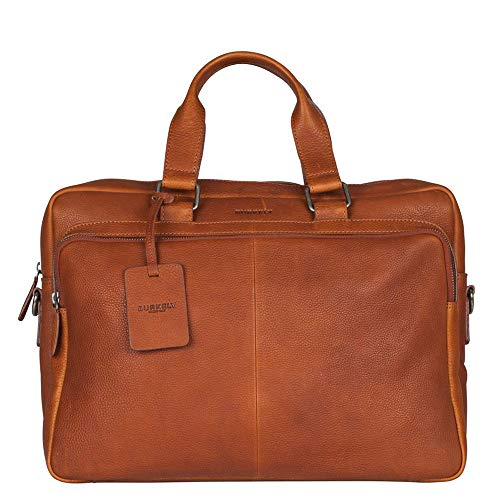 521856 Cognac Antique Laptoptas Burkely n Avery 24 wBI7wnq4
