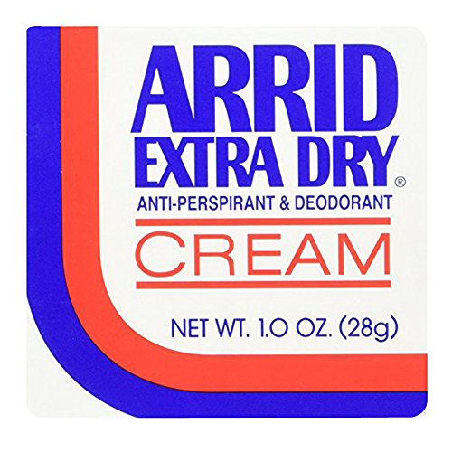 ARRID Extra Dry Anti-Perspirant Deodorant Cream 1 oz (Pack of (Arrid Deodorants Anti Perspirant)