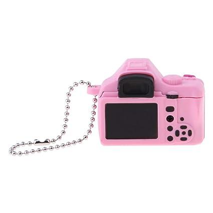 1//6 Blythe Dollhouse Miniature Pink Camera Quality