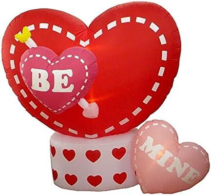 Amazon.com: 8 foot Animated hinchable de San Valentín diseño ...
