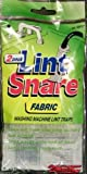 Lot of 12 Lint Snare Fabric Washing Machine Traps with Ties Clamps (6 Packs of 2)