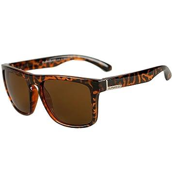 JAGENIE - Gafas de Sol cuadradas para Hombre, para conducción al Aire Libre, Deportes, Pesca, etc. C6