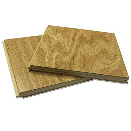 American Living Hard Wood Flooring Sample Piece Red Oak Natural