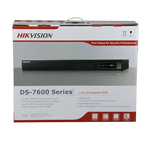Hikvision DS-7608NI-E2 US English Version Embedded 8Channel NVR 1080P 2 SATA (Can (I2 Module)