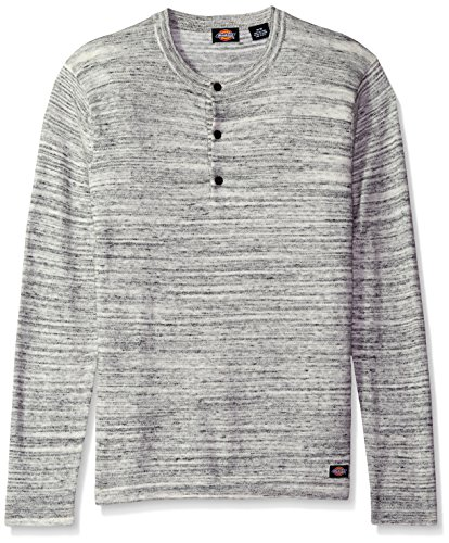 Hot Dickies Men's Jersey Button Henley Sweater hot sale