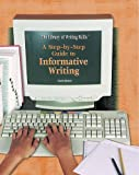 A Step-By-Step Guide to Informative Writing, Lauren Spencer, 1404202137