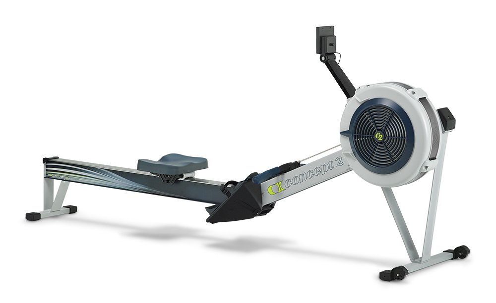 Concept2 Model D with PM5 Performance Monitor Indoor Rower Rowing Machine Gray