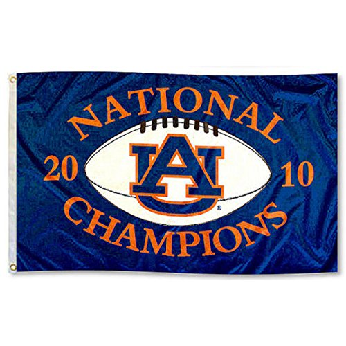 Auburn 2010 National Champions Flag College Flags and Banners Co