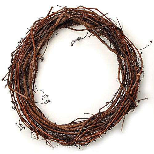 Darice 2802-73 Grapevine Wreath 18'' by Darice