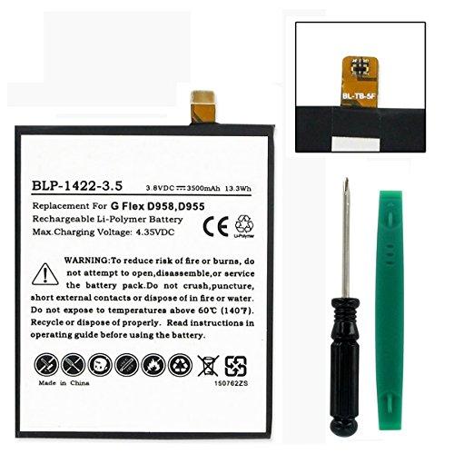LG BL-T8 3.8V 3500mAh LI-POL replacement battery by EMPIRE