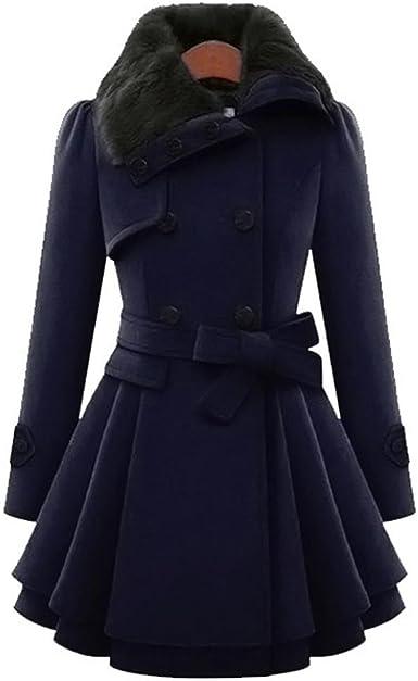 Manteau Classe Femme En Ligne, Manteau Noir Femme Hiver