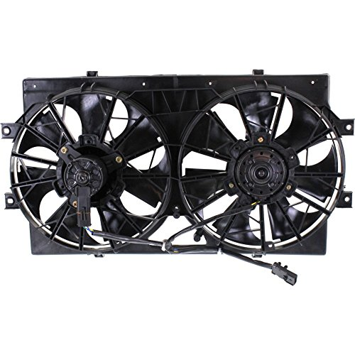 Radiator Fan Assembly for STRATUS CIRRUS 95-00 Dual Type 6Cyl Stamped 4595782 or 4662598