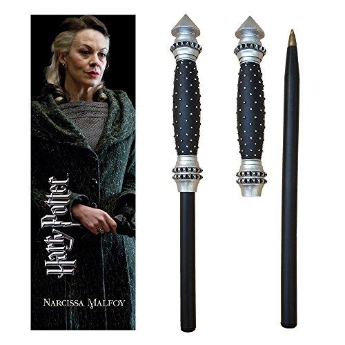 Harry Potter Narcissa Wand Pen and Bookmark.